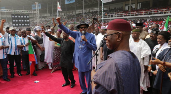 Image result for 2019: Buhari's campaign starts in South-South Monday – Senator