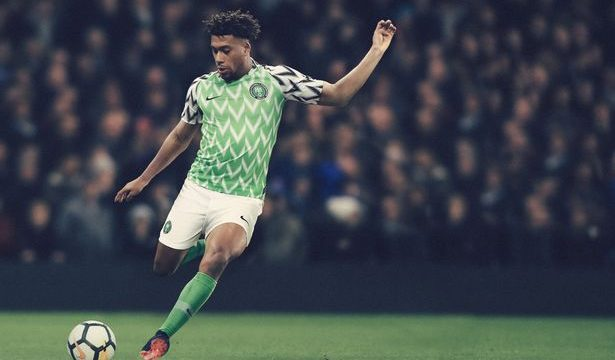 Newly-released Nigerian Super Eagles World Cup kit tops UK paper ranking