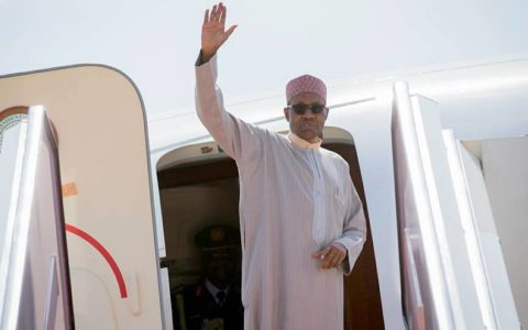 Nigeria: Buhari Leaves for UK