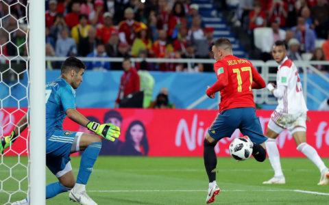 World Cup: Morocco Holds Spain to a 2:2 Draw