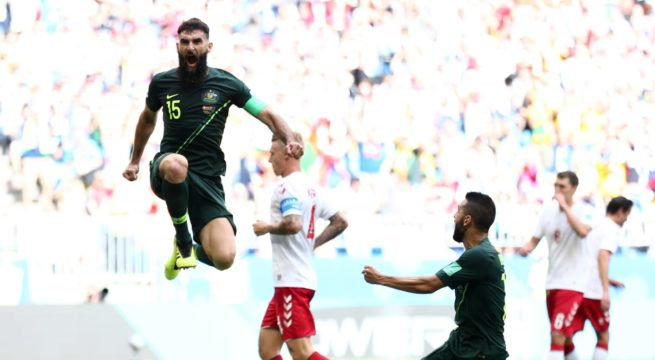 World Cup: Denmark and Australia Match End in a 1:1 Draw