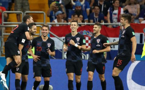 World Cup: Croatia Wins Iceland 2:1