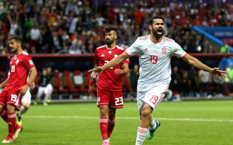 World Cup: Iran Loses Narrowly to Spain 1:0