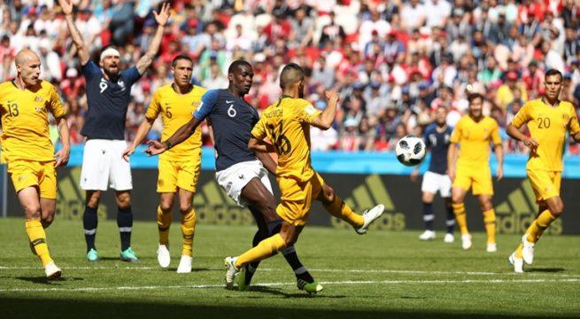 World Cup: France Edges Past Australia 2:1
