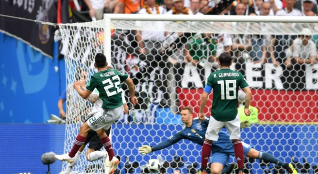 World Cup: Mexico Shocks Germany 1:0