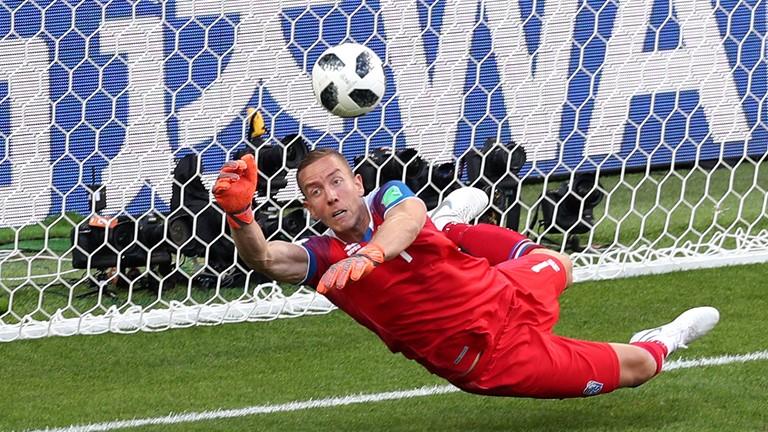 Iceland Goal Keeper