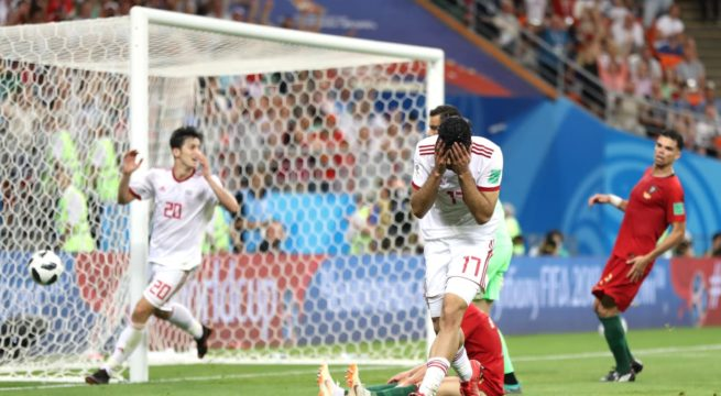 World Cup: Iran Gives Portugal a Scare, Plays a 1:1 Draw