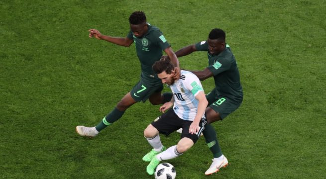 World Cup: Nigeria Loses 1:2 to Argentina, Crashes Out of the World Cup