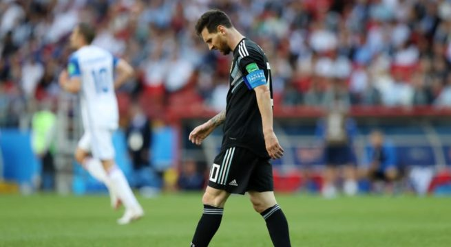 World Cup: Iceland Thwarts Argentina as Game Ends 1:1