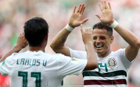World Cup: Mexico Wins Korea Republic 2:1