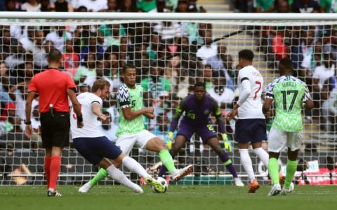 Football: Nigeria Loses 2:1 to England