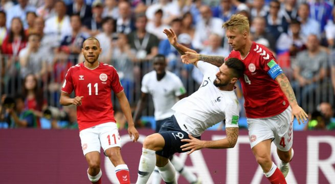 World Cup: France and Denmark Play a Goal-less Draw