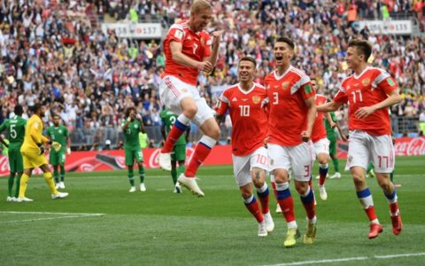 World Cup: Russia Opens 2018 FIFA World Cup with a Win Over Saudi Arabia