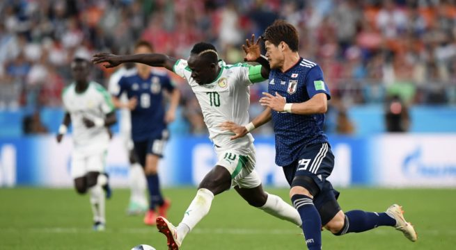 World Cup: Senegal Draws 2:2 with Japan