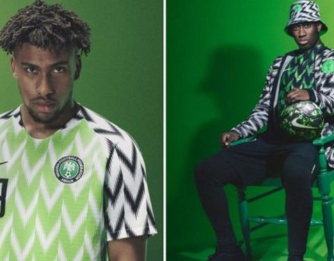 2018 World Cup: Super Eagle's Kit Sells Out On First Day