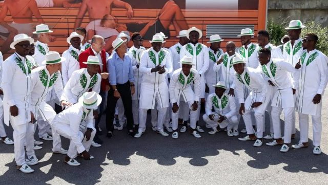 Sports: Nigerian Super Eagles Making Waves with Their Outfit