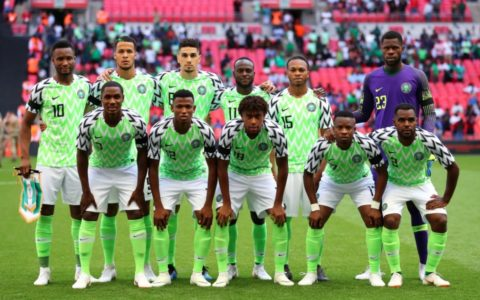 Sports: Nigerian Super Eagles Lose 0:1 to Czech Republic