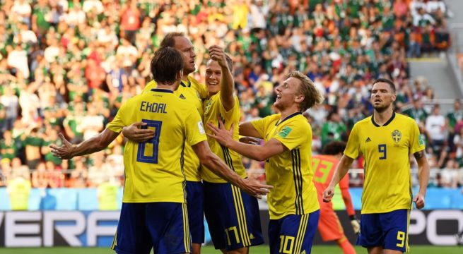World Cup: Sweden Win Mexico 3:0
