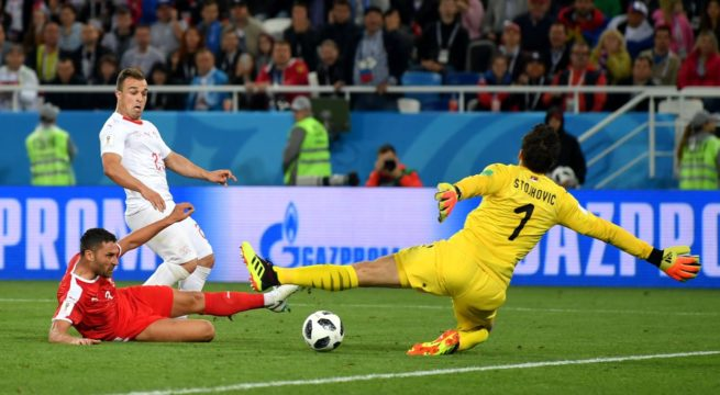 World Cup: Switzerland Snatches a 2:1 Win Over Serbia