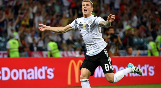 World Cup: Germany Snatches Late Win Over Sweden, Wins 2:1