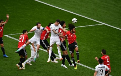 World Cup: Uruguay Edges Past Egypt by 1:0