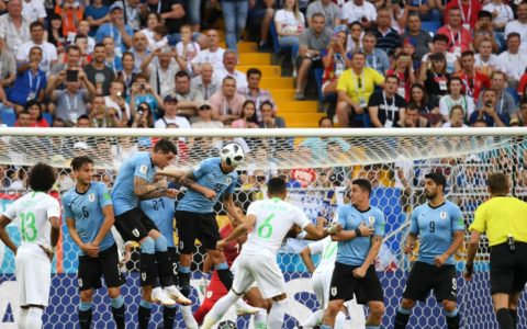 World Cup: Uruguay Wins Saudi Arabia 1:0, Confirms Egypt's Exit