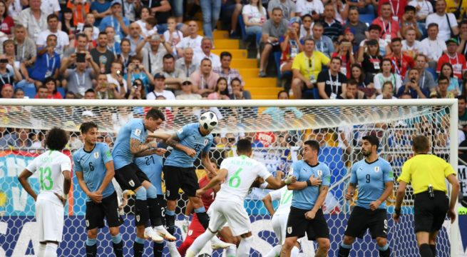 World Cup: Uruguay Wins Saudi Arabia 1:0, Confirms Egypt's Exit