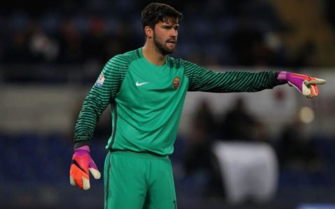 Sports: Liverpool Signs Alisson Becker from Roma for £67 million