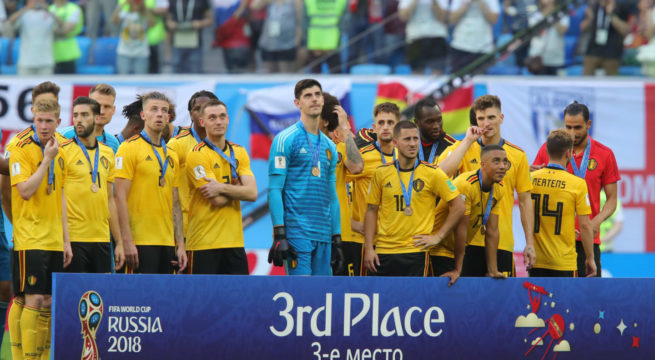 World Cup: Belgium Wins Third Place, Beats England 2:0
