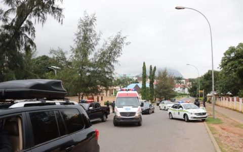 Nigeria: Bukola Saraki's Convoy Blocked by the Police