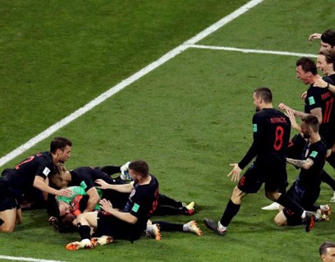 World Cup: Russia's World Cup Ends as they Lose 3:4 on Penalties to Croatia