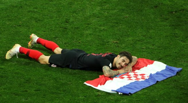 World Cup: Croatia Through to the Finals, Wins England 2:1