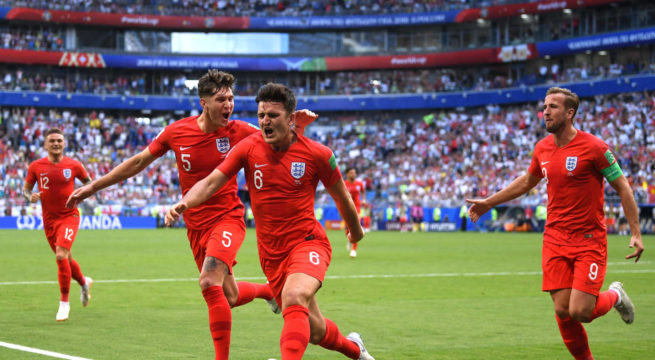 World Cup: England Into their First Semi-Final Since 1990, Wins Sweden 2:0