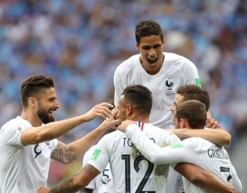 World Cup: France Knocks Uruguay Out, Wins 2:0