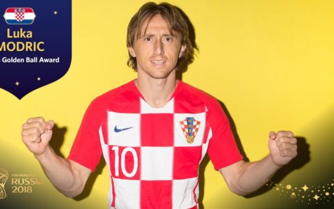 World Cup: Modric Wins 2018 FIFA World Cup MVP