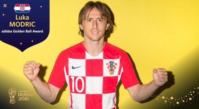 World Cup: Modric Wins 2018 FIFA World Cup MVP