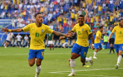 World Cup: Brazel Edges Out Mexico 2:0 to Advance to the Quarter Finals