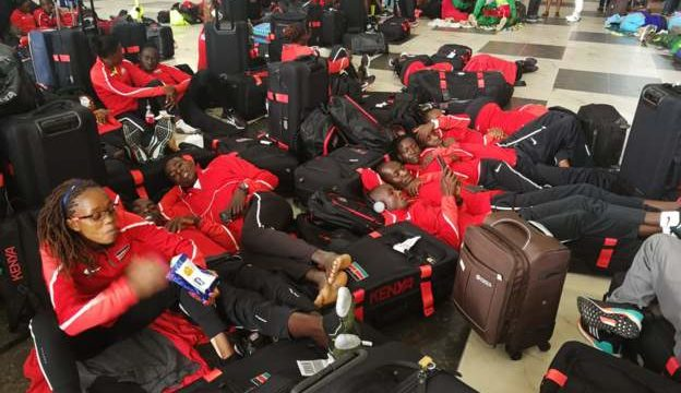 Sports: Athletes to the Africa Senior Athletic Championship Asaba Stranded In Lagos Airport