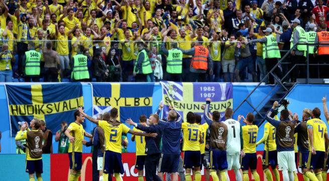 World Cup: Sweden Triumph 1:0 Over Switzerland