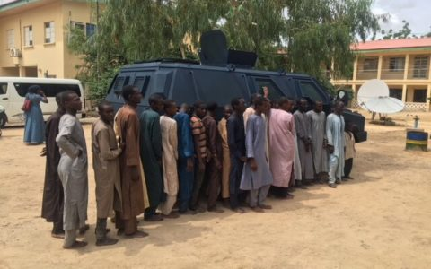 Nigeria: Suspected Kidnappers of Chibok Girls Paraded By the Police