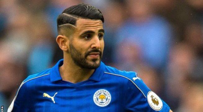 Premiership: Mahrez Finally Join ManCity for £60 million