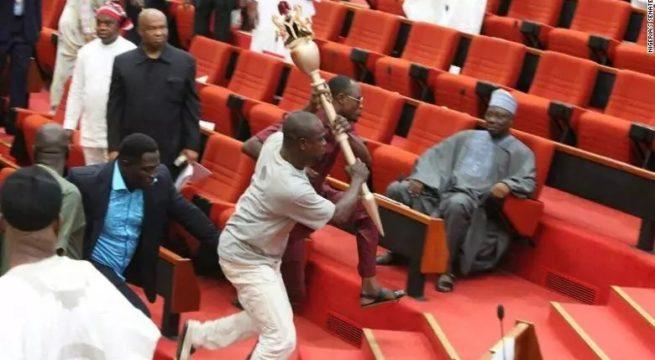 Nigeria: APC Senators Plan to Break Into Senate Champers (Video) - Onyema Chukwu
