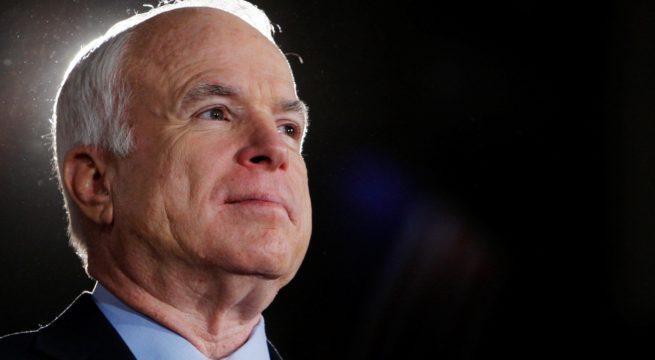 A Tribute to My Namesake – Senator John Sidney McCain III.