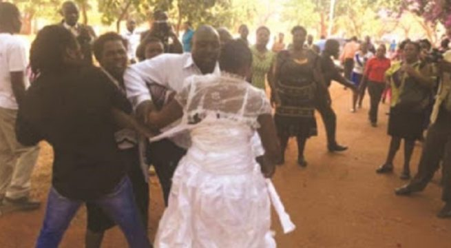 Wedding Ends as Mother-In Law and Bride Fight Over Food on Wedding Day