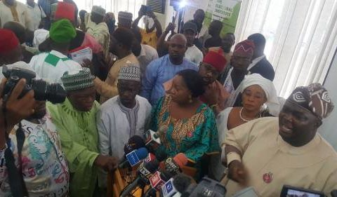 2019 Election: Commotion, Walk Out and Fight Engulf INEC Chairman Meeting with 91 Political Party Chairmen