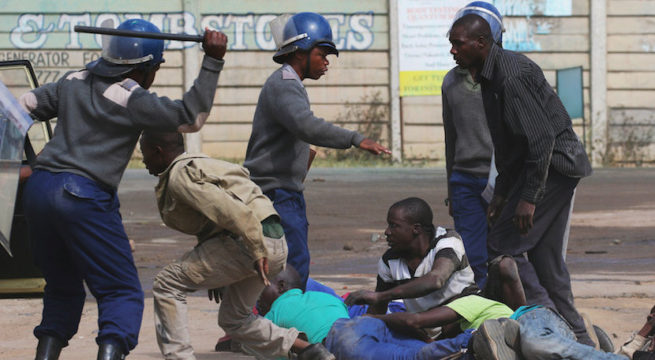 SASU Condemns the Violent and Criminal Actions of the Zimbabwean Government on its People and Student Leaders