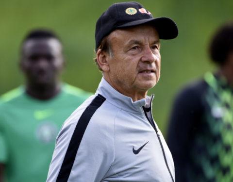 AFCON: Gernot Rohr Names 23-Man Squad - Iheanacho, Ajayo Dropped