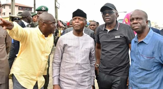 Nigeria: Osinbajo Expresses Satisfaction on Apapa Road Clearance