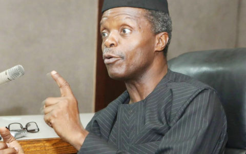 Press Release: For the Records - What VP Osinbajo Said on Kidnapping