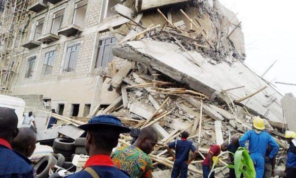 Three-storey Building Collapses in Lagos